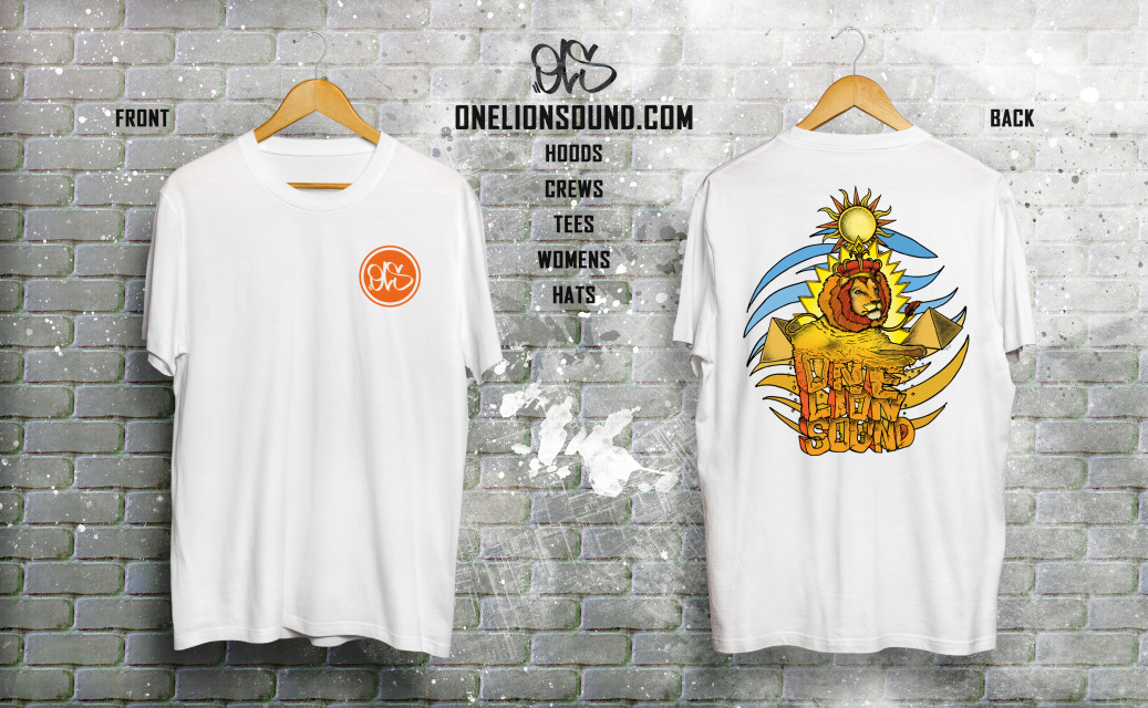 c07665aa Official OneLion Sound merchandise OLS | UK hip hop clothing ...